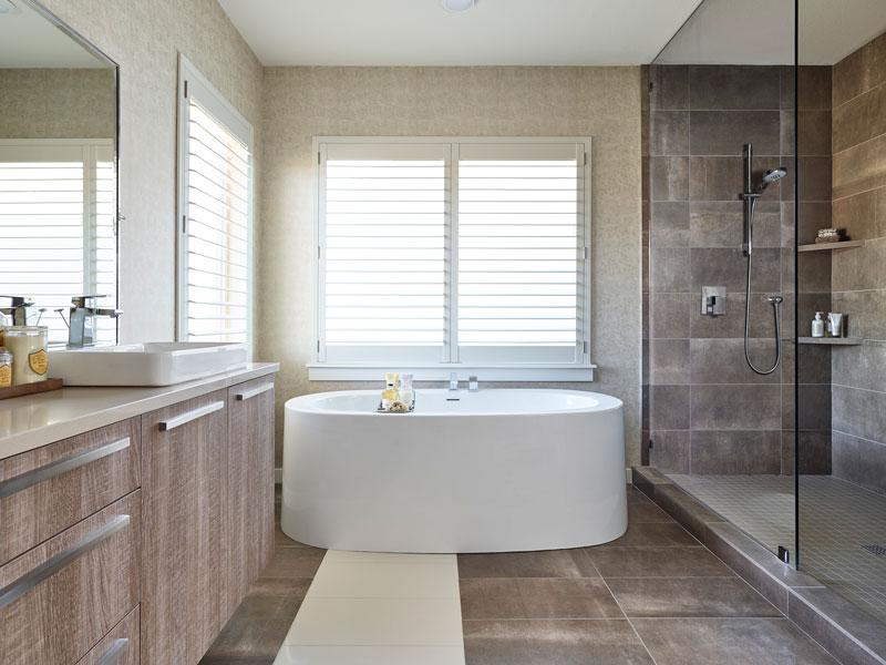 Linen Color Scheme - Baths