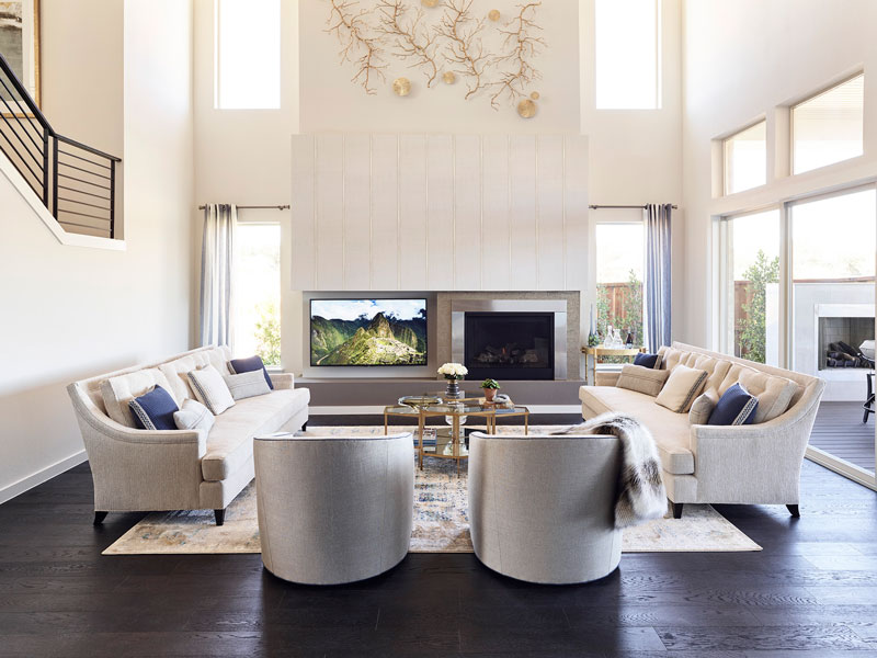 Sterling Color Scheme - Great Rooms
