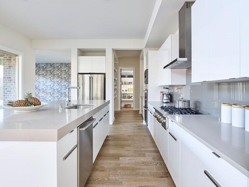 Linen Color Scheme - Kitchens