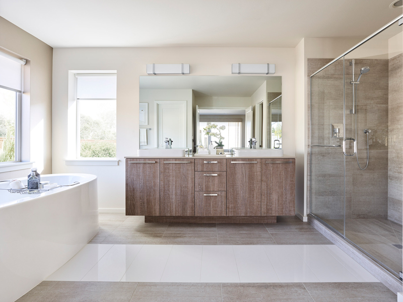 Amaretti Color Scheme - Baths